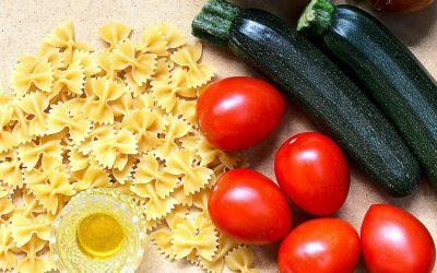 Alimentazione sana e organizzazione in cucina